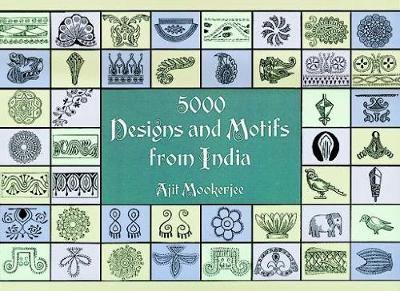 5000 Designs and Motifs from India - Dover Pictorial Archive (Paperback)