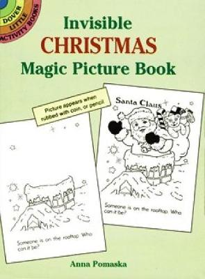 Invisible Christmas Magic Picture Book - Dover Little Activity Books (Paperback)