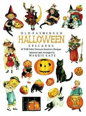 Old-Fashioned Halloween Stickers: 67 Full-Color Pressure-Sensitive Designs