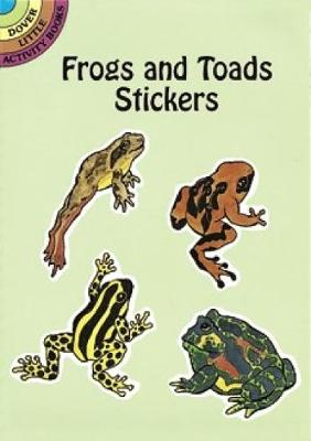 Frogs and Toads Stickers - Dover Little Activity Books Stickers (Paperback)