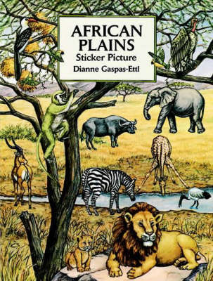 African Plains Sticker Picture