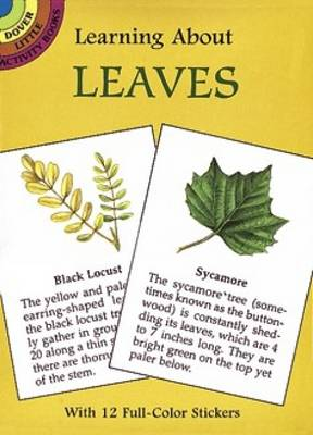 Learning about Leaves - Dover Little Activity Books (Paperback)