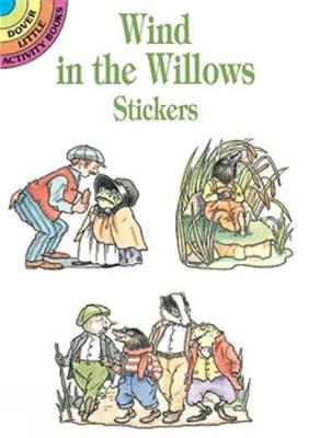 """""""Wind in the Willows"""" Sticker Book - Dover Little Activity Books Stickers (Paperback)"""