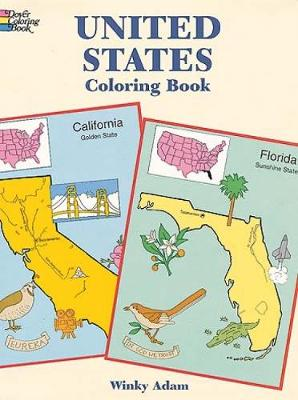 United States Coloring Book - Dover History Coloring Book (Paperback)