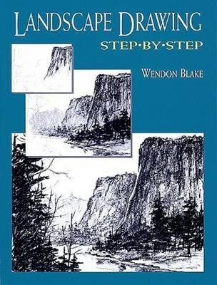 Landscape Drawing Step-by-Step - Dover Art Instruction (Paperback)