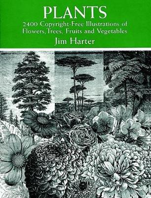 Plants: 2400 Designs - Dover Pictorial Archive (Paperback)