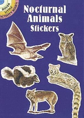 Nocturnal Animals Stickers - Dover Little Activity Books Stickers (Paperback)