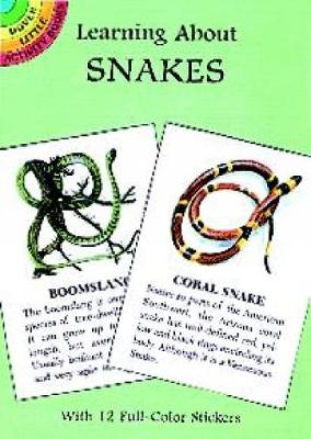 Learning About Snakes - Dover Little Activity Books (Paperback)