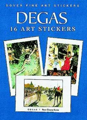 16 Fine Art Stickers - Dover Art Stickers (Paperback)