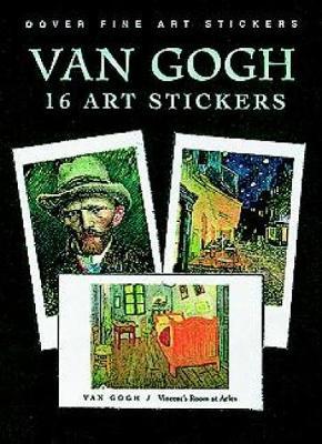 Van Gogh: 16 Fine Atr Stickers: 16 Fine Atr Stickers - Dover Art Stickers (Paperback)