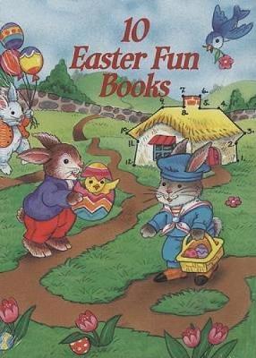 10 Easter Fun Books (10 Vols) - Dover Little Activity Books (Paperback)