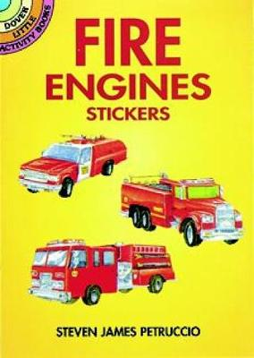 Fire Engines Stickers - Dover Little Activity Books Stickers (Paperback)