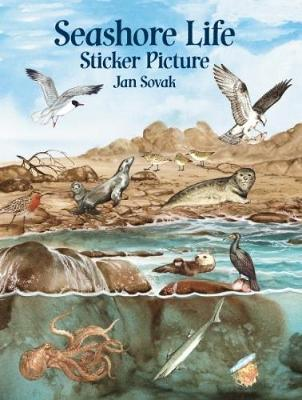 Seashore Life Sticker Picture: With 33 Reusable Peel-and-Apply Stickers - Dover Sticker Books (Stickers)