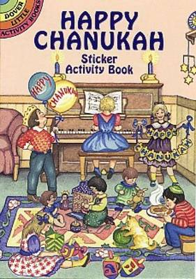 Happy Chanukah Sticker Activity Boo (Paperback)