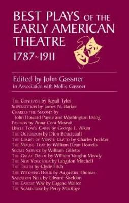 Best Plays of Early American Theatr (Paperback)
