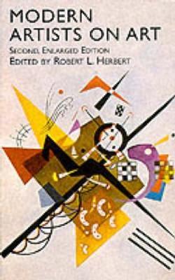 Modern Artists on Art - Dover Fine Art, History of Art (Paperback)