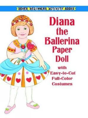 Ballerina Paper Doll - Dover Paper Dolls (Paperback)