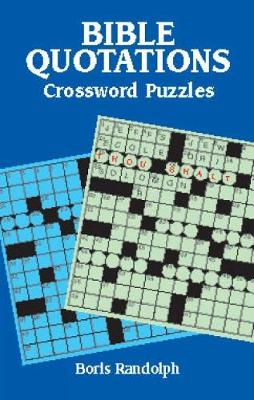 Bible Quotations Crossword Puzzles (Paperback)