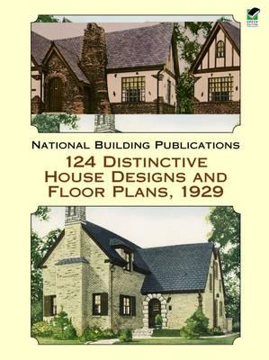 124 Distinctive House Designs - Dover Architecture (Paperback)
