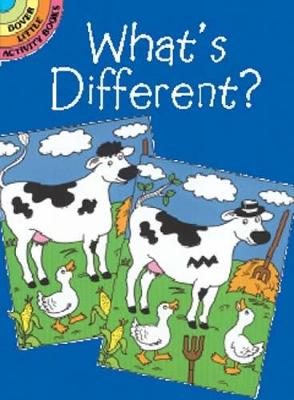 Whats Different - Dover Little Activity Books (Paperback)