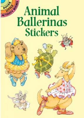 Animal Ballerinas Stickers (Paperback)
