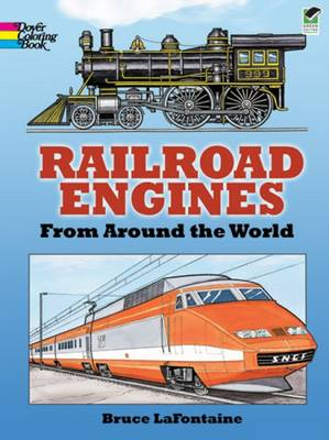 Railroad Engines from Around the World Coloring Book - Dover History Coloring Book (Paperback)