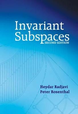 Invariant Subspaces - Dover Books on Mathematics (Paperback)