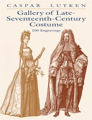 Gallery of Late-Seventeenth-Century: 100 Engravings (Paperback)