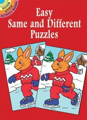 Easy Same & Dofferent Puzzles (Paperback)
