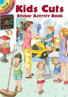 Kits Cuts Sticker Activity Book - Dover Little Activity Books (Paperback)