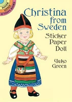 Christina from Sweden Sticker Paper - Dover Little Activity Books Paper Dolls (Paperback)