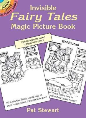 Invisible Fairy Tales Magic Picture - Dover Little Activity Books (Paperback)