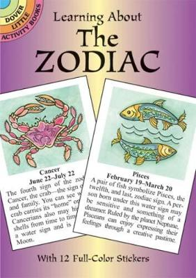 Learning about the Zodiac - Dover Little Activity Books (Paperback)