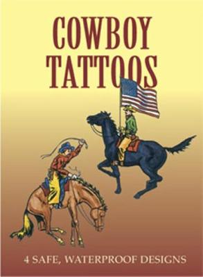 Cowboy Tattoos - Dover Tattoos (Paperback)