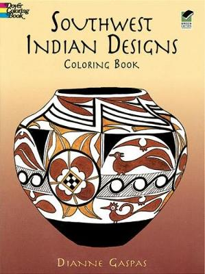 Southwest Indian Designs Coloring B - Dover Design Coloring Books