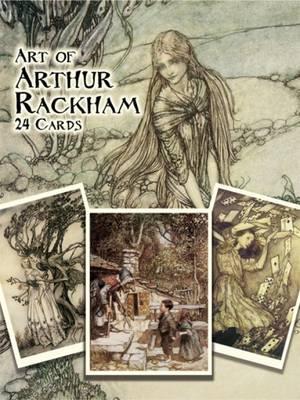Art of Arthur Rackham - Dover Postcards
