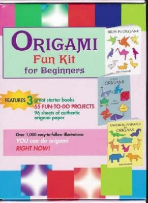 "Origami Fun Kit for Beginners: ""Birds in Origami"", ""Easy Origami"", ""Favorite Animals in Origami"" - Dover Fun Kits (Paperback)"