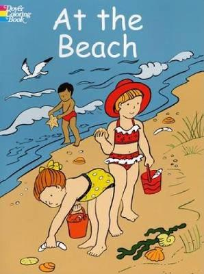 At the Beach - Dover Coloring Books (Paperback)