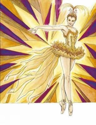 Ballet Costumes Coloring Book - Dover Fashion Coloring Book (Paperback)