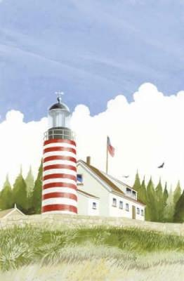 Lighthouses of the World - Dover History Coloring Book (Paperback)