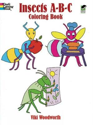 Insects ABC Colouring Book - Dover Coloring Books (Paperback)