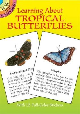 Learning About Butterflies - Dover Little Activity Books (Paperback)