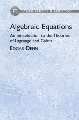 Algebraic Equations (Paperback)
