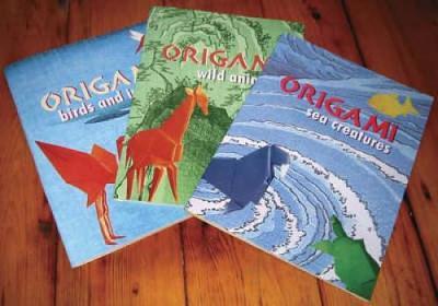 Animal Origami Adventure: An Origami Safari in a Box - Dover Fun Kits (Paperback)
