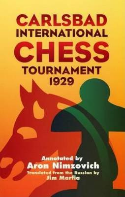 Carlsbad Int Chess Tourn 1929 - Dover Chess (Paperback)