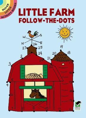 Little Farm Follow-The-Dots - Dover Little Activity Books (Paperback)