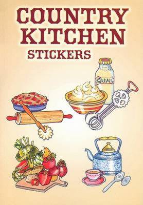 Country Kitchen Stickers - Dover Stickers (Paperback)