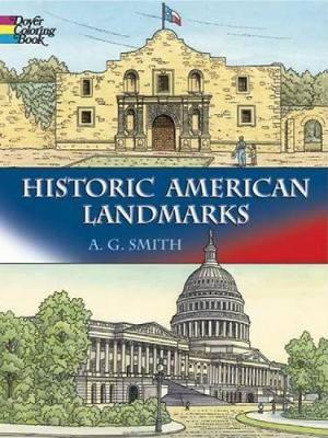 Historic American Landmarks - Dover History Coloring Book (Paperback)