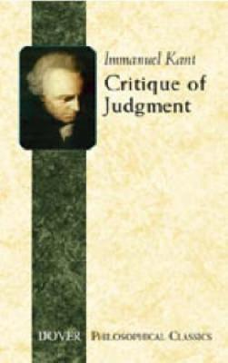 Critique of Judgement - Dover Philosophical Classics (Paperback)