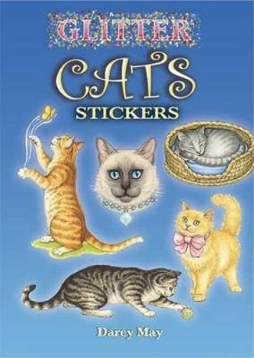 Glitter Cats Stickers - Dover Little Activity Books Stickers (Paperback)